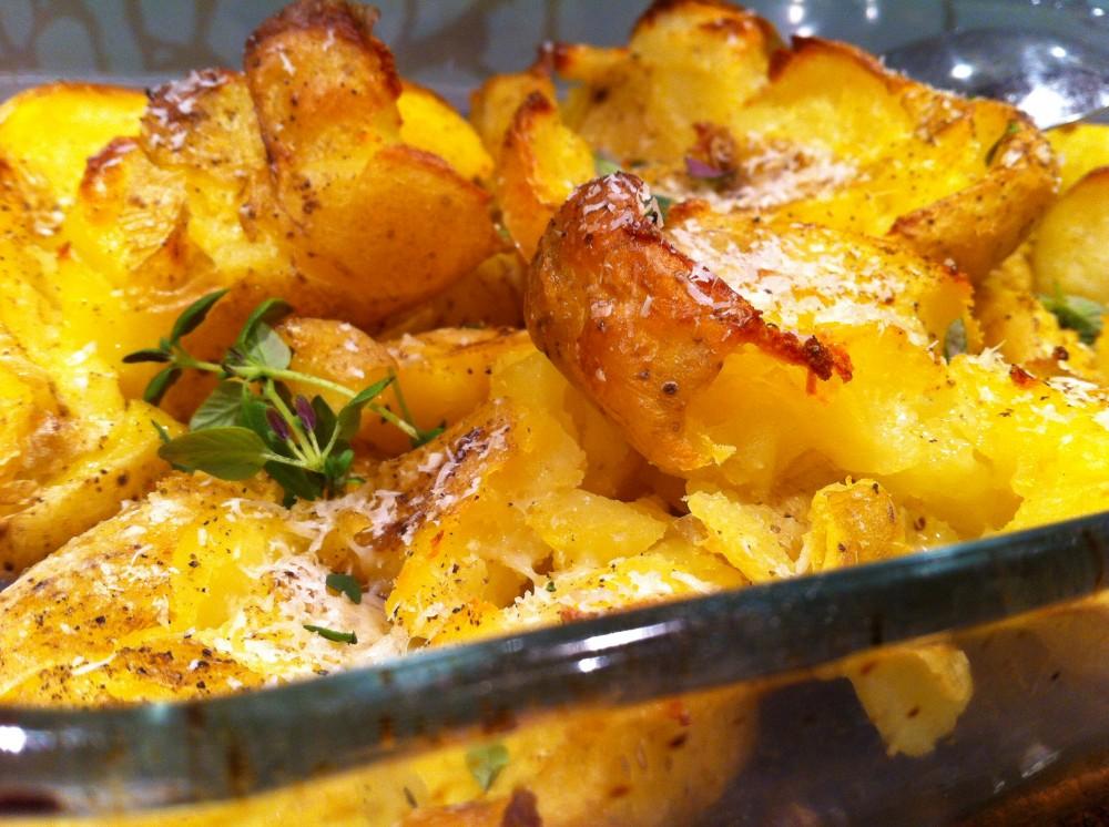 överbliven kokt potatis